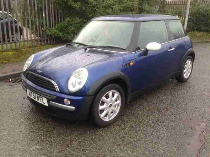 Mini 1.6 One 2001 51 Manual With 120000 Miles From New