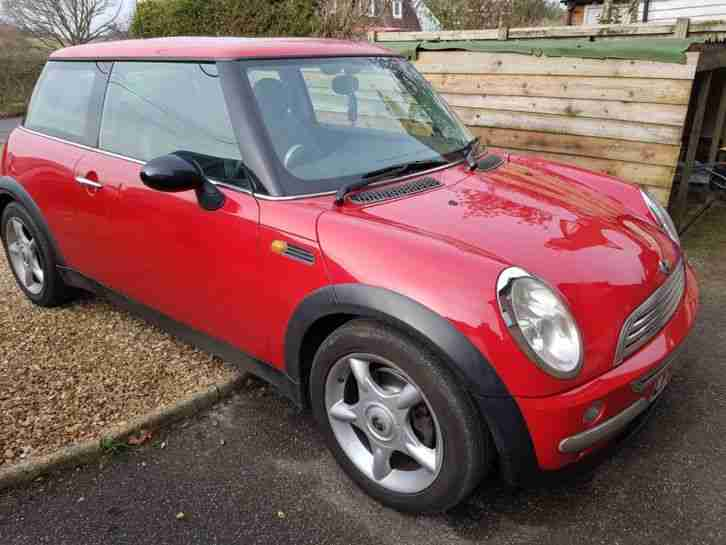 Mini Cooper 1.6. Mini car from United Kingdom