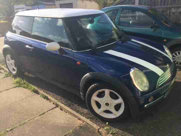 Mini Cooper 2002. Mini car from United Kingdom
