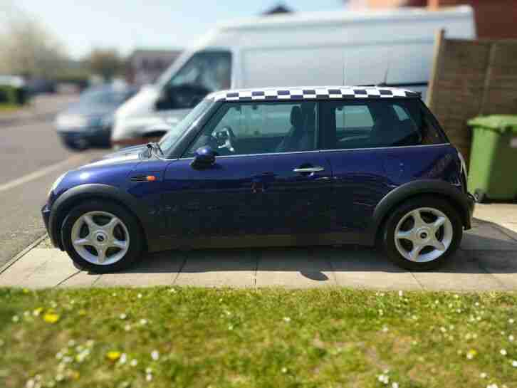 Mini Cooper R50. Mini car from United Kingdom