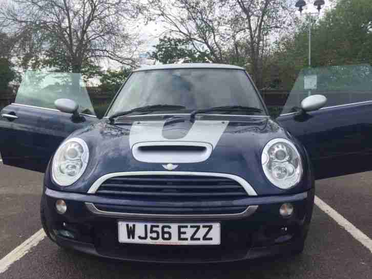 Cooper S Checkmate 56 plate 78,000 miles