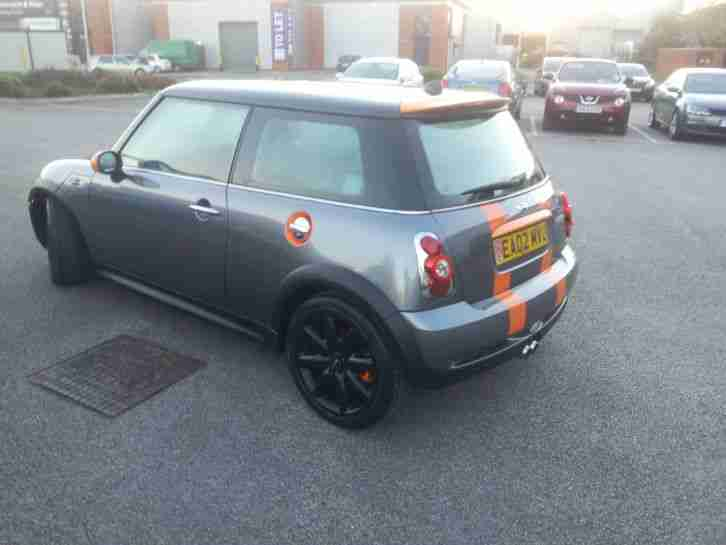 Mini Cooper S Electric Orange Special