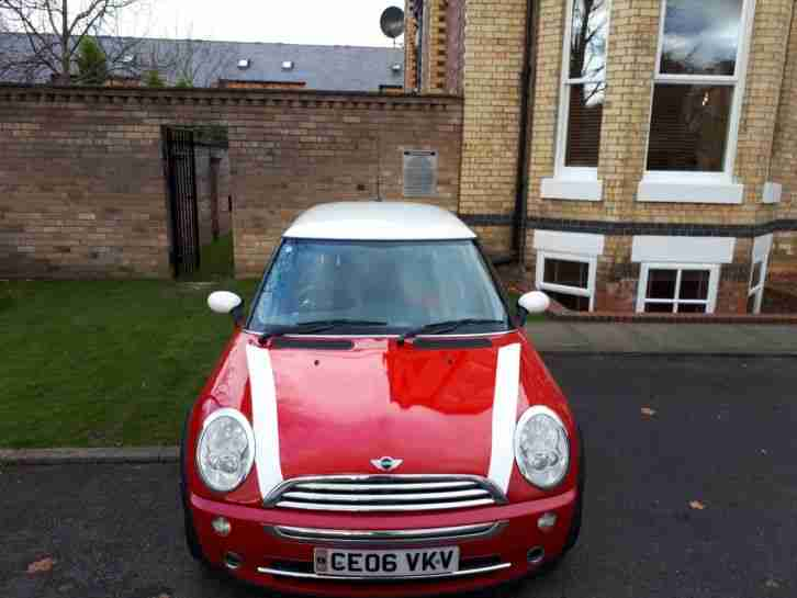 Mini Cooper in. Mini car from United Kingdom