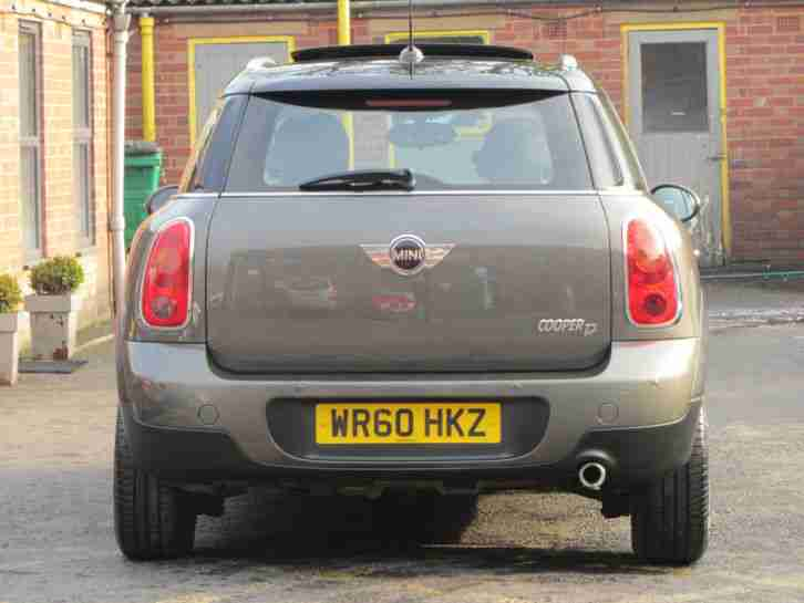 Mini Countryman 1.6TD ALL4 Pepper Cooper D DIESEL -FULL MINI HISTORY -STOP/START