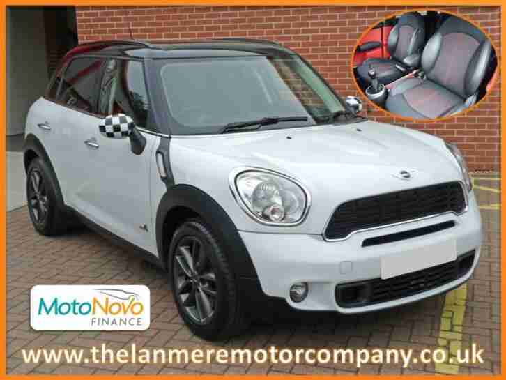 Mini Countryman Cooper S ALL4 1.6 petrol 5dr hatchback 6 speed manual