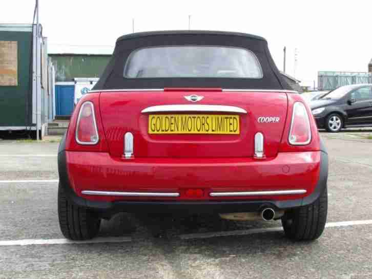 Mini Hatch Cooper Convertible Immaculate Condition PETROL MANUAL 2005/05