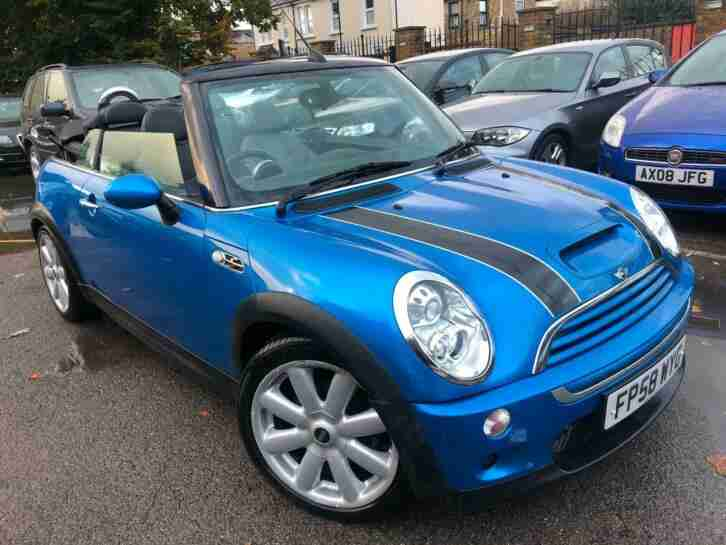 Mini Mini 1.6 ( 170bhp ) Cooper S CONVERTIBLE 2008(58) FULL MINI HISTORY CLEAN