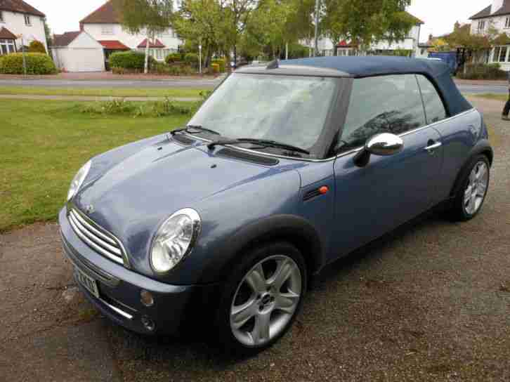Mini Mini 1.6 ( Chili ) Cooper CABRIOLET FULL LEATHER AND XENONS 49,000 MILES
