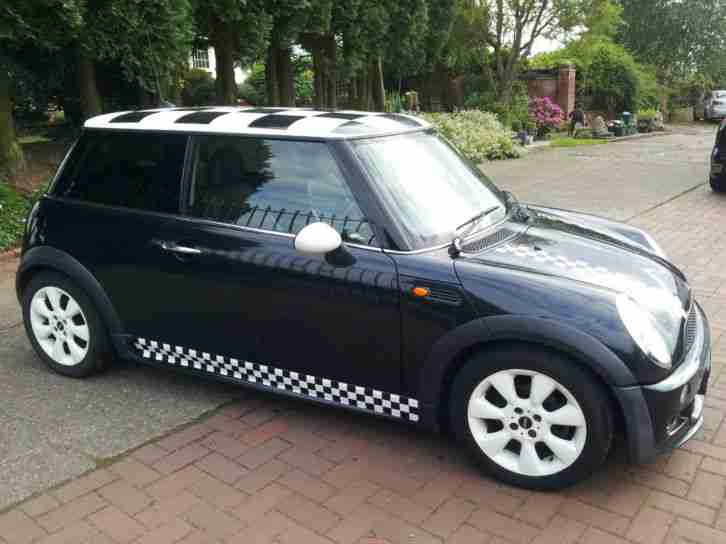 mini 1 6 cooper 2005 98k history williams bumpers good. Black Bedroom Furniture Sets. Home Design Ideas