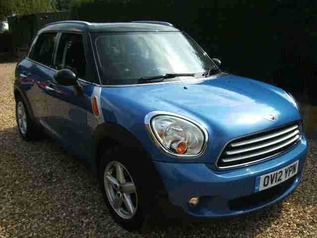 Mini Mini Countryman 1.6TD ( 112bhp ) D Cooper ALL4,12 Reg,One Former Keeper.