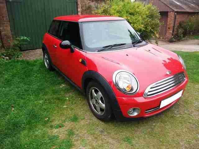 Mini One 2007, 1.4L. Pepper pack. Long M.O.T - Reasonable offers considered.