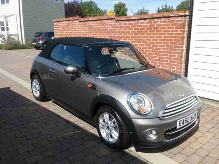 Mini Cooper D Convertable Car For Sale