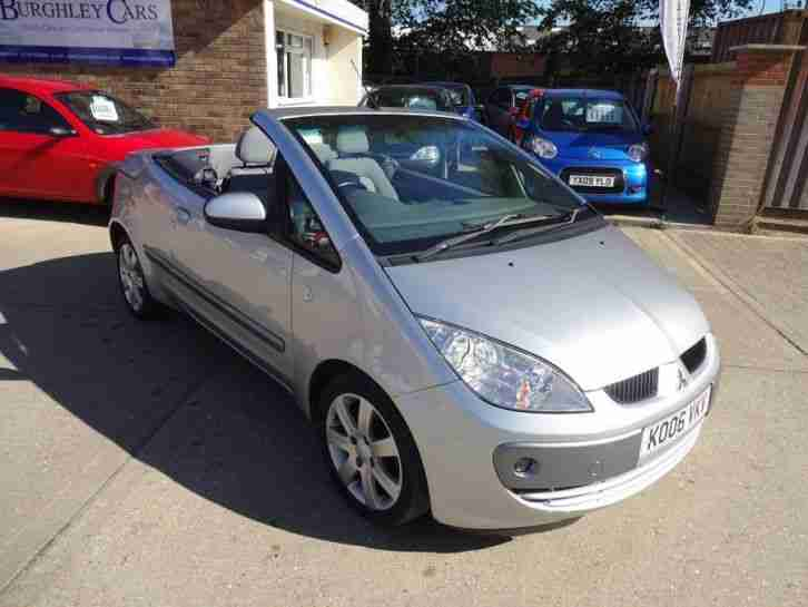 mitsubishi colt cabriolet 1 5 czc only 41 000 miles car for sale. Black Bedroom Furniture Sets. Home Design Ideas