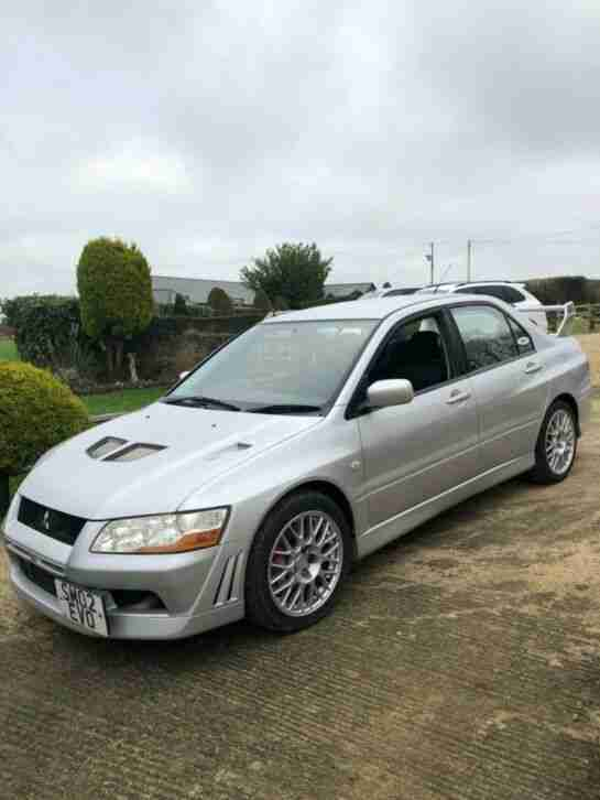 Mitsubishi Evolution 7. Mitsubishi car from United Kingdom