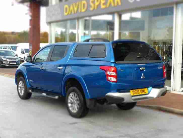 Mitsubishi L200 2.4 Di-D 178ps 4X4 Warrior Double Cab Pickup 4x4