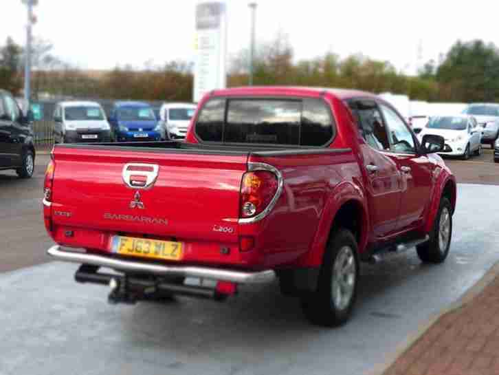 Mitsubishi L200 2.5 Di-D 175ps 4X4 Barbarian Long Bed Double Cab Pick-Up