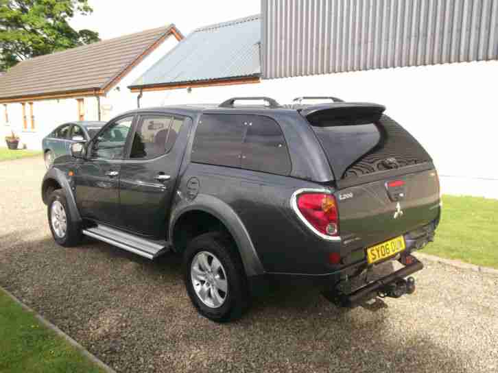 Mitsubishi L200 2.5DI-D 4WD Double Cab Pickup Animal, Storry 4x4