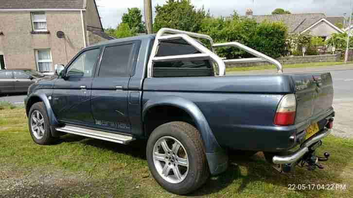 L200 2.5TD 2005 Animal. No Vat Top