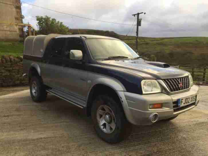 Mitsubishi L200 2.5TD. Mitsubishi car from United Kingdom