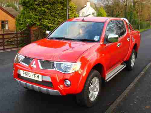 Mitsubishi L200 Animal 2.5 Di-D Double Cab Leather
