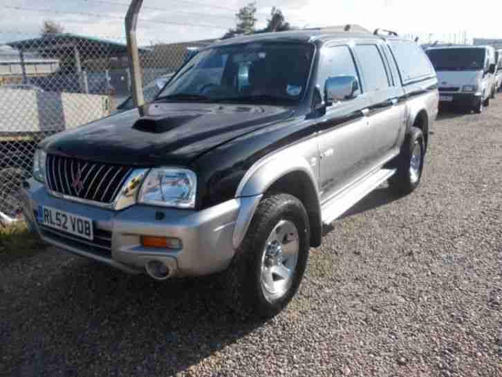 Mitsubishi l200 diesel 2002