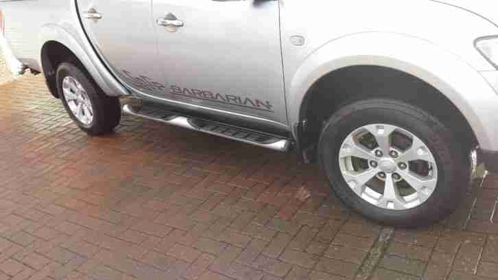 Mitsubishi L200 Barbarian 2010 only 28100 genuine miles