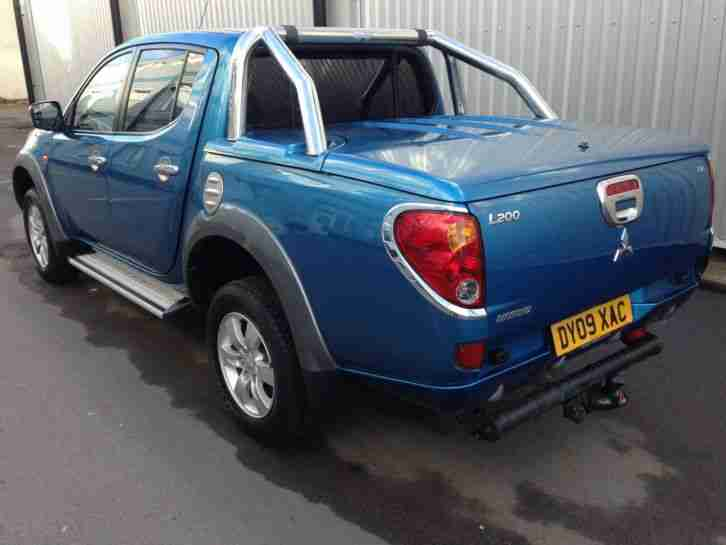 Mitsubishi L200 Double cab 2009 Diamond 2.5 Di-d Auto 68.000 NO VAT May PX
