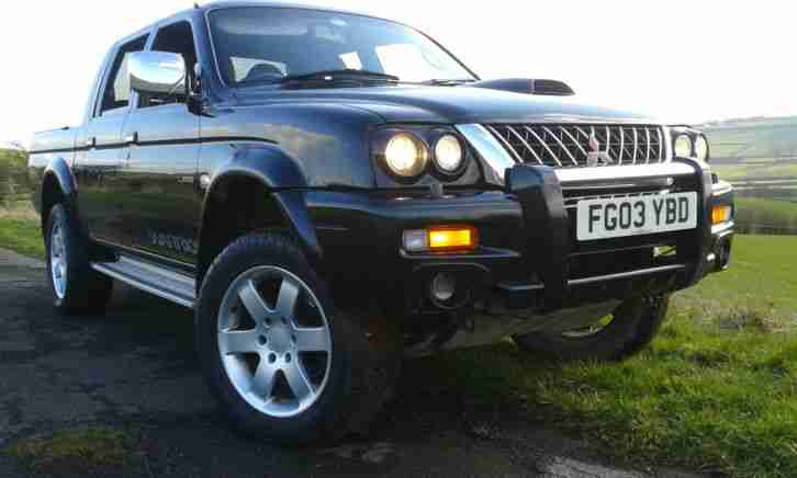 L200 Warrior Double Cab Pick Up