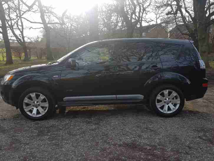 Mitsubishi Outlander 2.2 DI-DC Diamond SATNAV*REV CAM*HDD*TOP SPEC*1 OWNR-HPI