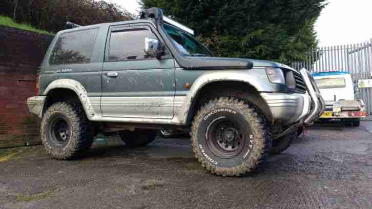 Pajero 2.8 manual 4x4 modified