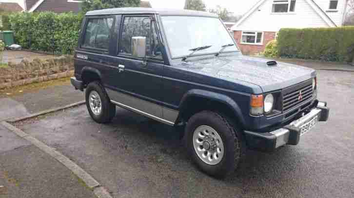 Mitsubishi Pajero Mk1. Mitsubishi car from United Kingdom