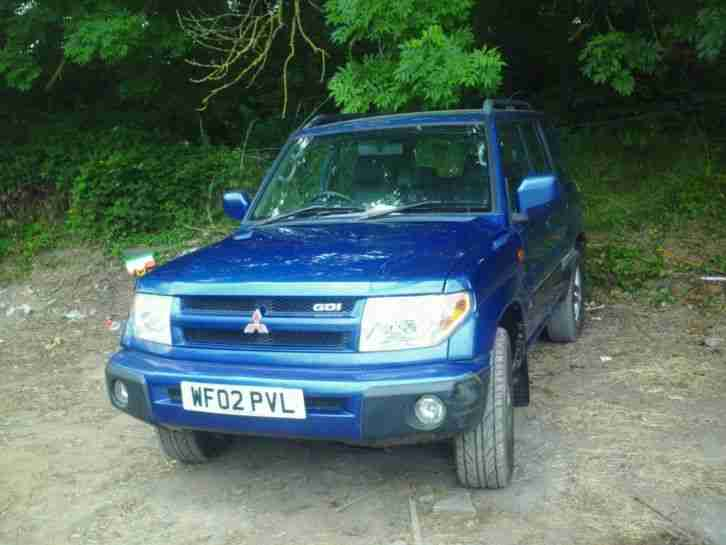 Mitsubishi Pinin in. Mitsubishi car from United Kingdom