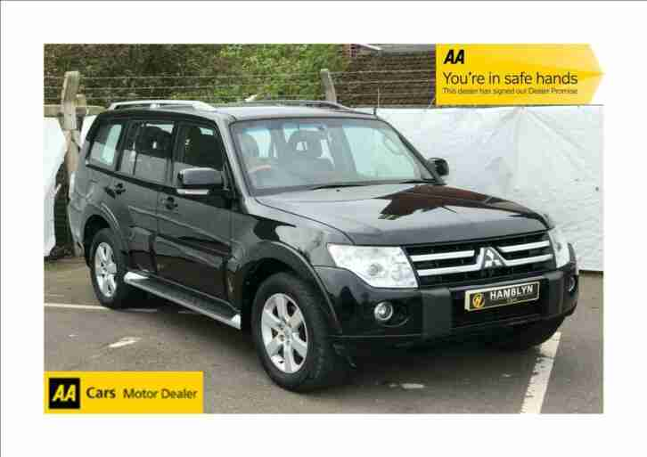 Mitsubishi Shogun 3.2 DI DC ( 197bhp ) 4Work LWB Equippe, 1 Owner from new, FMSH