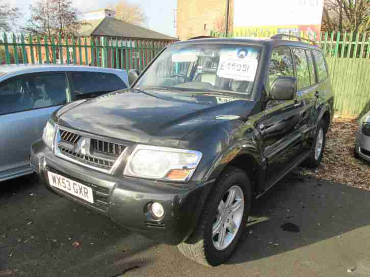 Mitsubishi Shogun 3.2DI. Mitsubishi car from United Kingdom