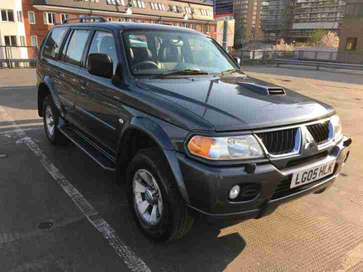 Mitsubishi Shogun Sport. Mitsubishi car from United Kingdom