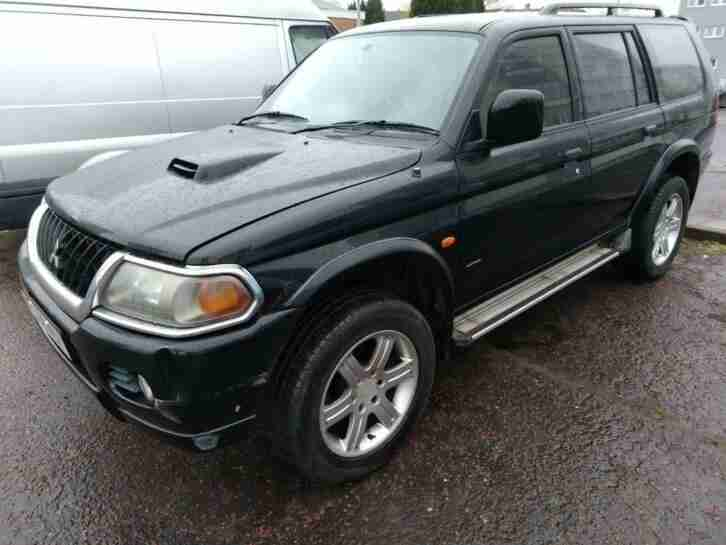 Mitsubishi Shogun Sport 2.5TD Warrior 2004 04 plate manual 4x4