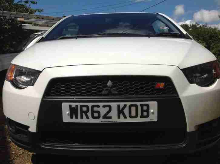 Mitsubishi colt ralliart 1.5l turbo in white