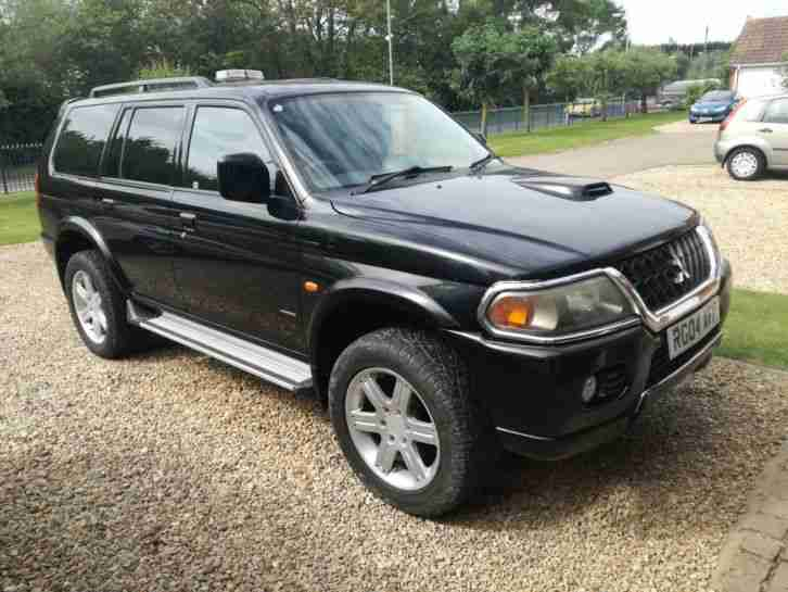 Mitsubishi Shogan sport. Mitsubishi car from United Kingdom
