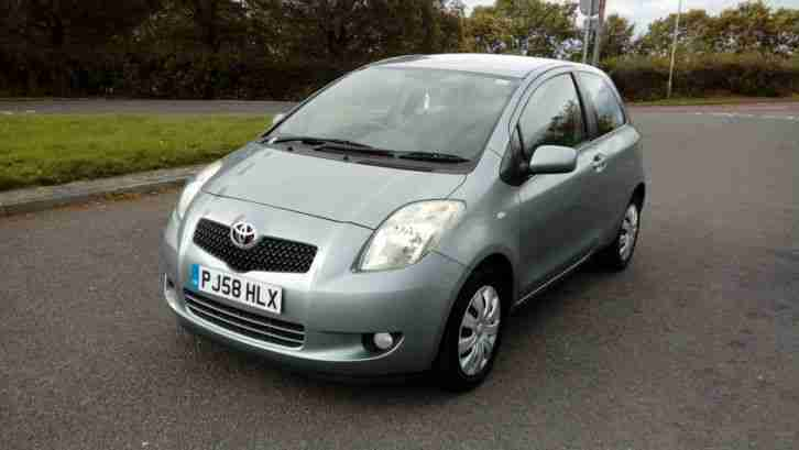 Toyota NICE 2008 58 Yaris 1.3 T3 3 DOOR FAMILY OWNED FROM