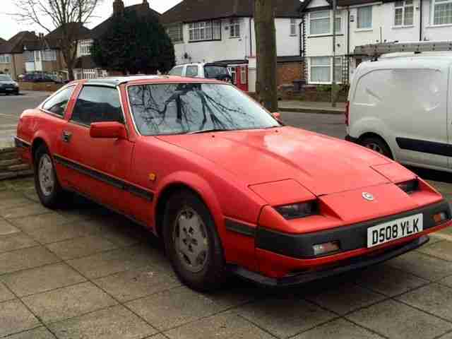 300 ZX 2+2 AUTO RED 1986 IN NEED OF