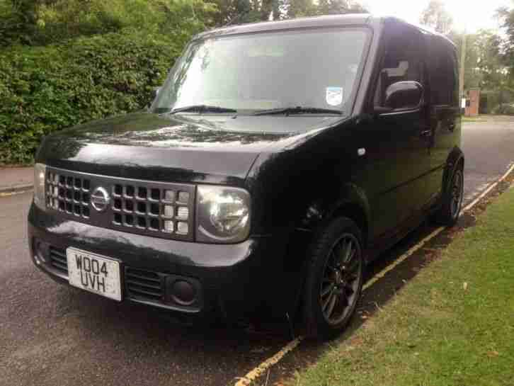 NISSAN CUBE 1.4 BLACK - AUTO - 72,000 MILES - DRIVES GREAT 5 SEATS
