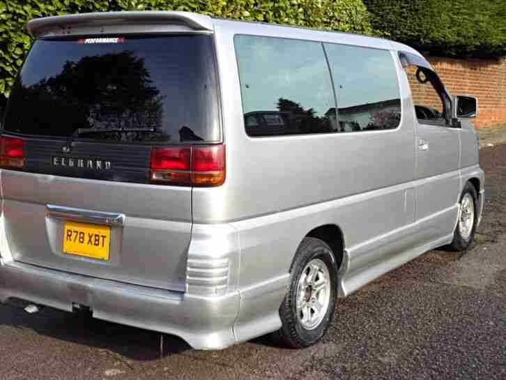 Car Carrier For Sale >> Nissan ELGRAND 1997 DIESEL AUTO 95,000 MPV 8 SEATER SILVER PEOPLE