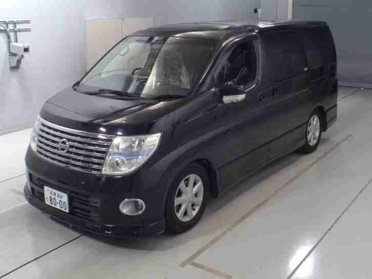 NISSAN ELGRAND E51 HIGHWAY STAR 4X4 TWIN POWER DOORS AND SUNROOFS TOP SPEC