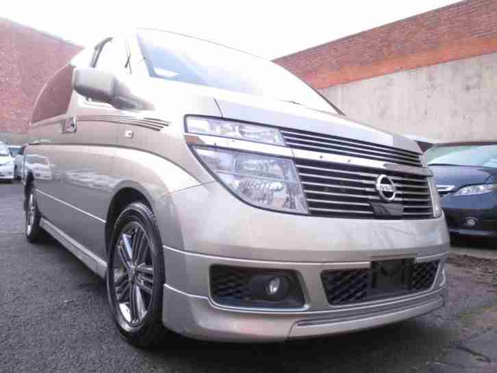 ELGRAND XL 3.5 V6 Auto 7 Leather Seats