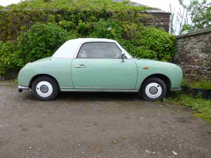 NISSAN FIGARO 1.0 CONVERTIBLE CABRIOLET AUTOMATIC AUTO * CLASSIC CAR