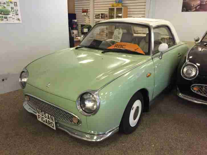 Nissan FIGARO. Nissan car from United Kingdom