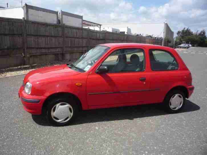 2010 MICRA VISIA RED DUAL CONTROL FITTED LEARNER CAR. car for sale