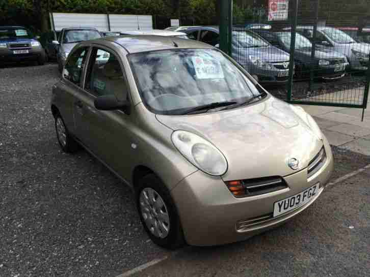 nissan micra 1 2 s gold 2003 car for sale. Black Bedroom Furniture Sets. Home Design Ideas