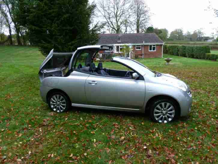 nissan micra 1 6 sport c c convertible car for sale. Black Bedroom Furniture Sets. Home Design Ideas