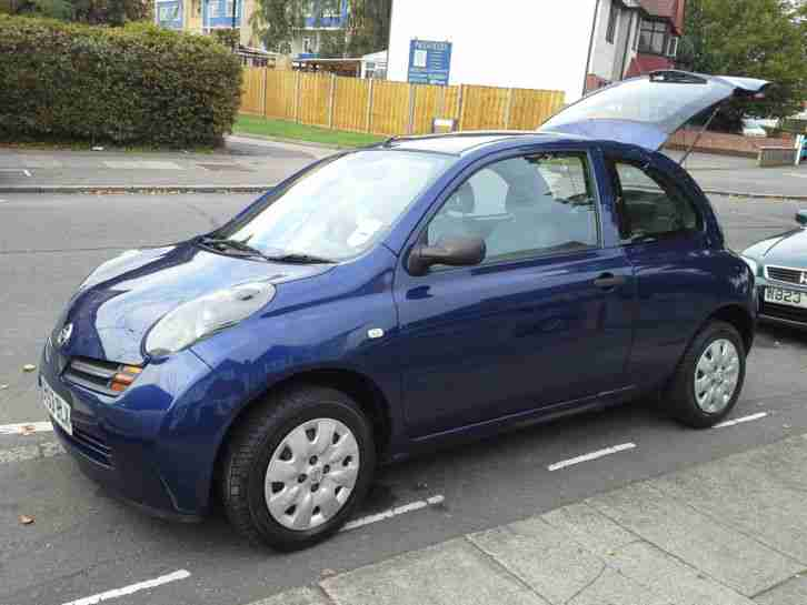 nissan micra 2003 with brand new 4 tyres car for sale. Black Bedroom Furniture Sets. Home Design Ideas